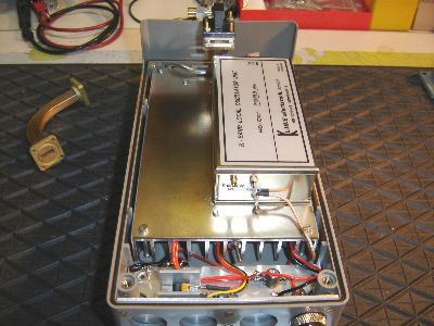 24GHz-Bake fertig aufgebaut und verdrahtet
