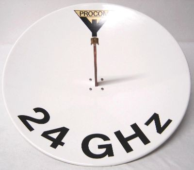 24GHz-Spiegel von PROCOM Dänemark mit 50cm Ø