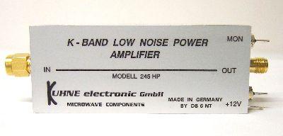 MKU245HP - HEMPT-FET-Verstärker NF 2,5dB , Pout 85mW