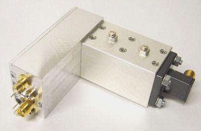 MKU24GA mit Filter und Hohlleiter/SMA-Übergang fertig zum Einbau