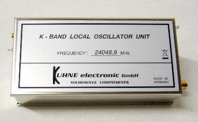 MKU LO 24 - 24048.900 MHz - 6mW RF Output